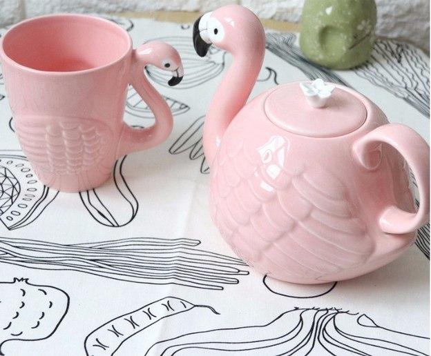 Чайничек с кружкой