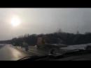 ДТП на дороге Витебск-Орша 18.01.2018