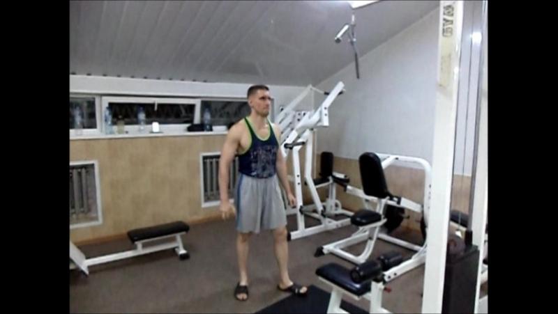Вертикальная тяга одной рукой 76 кг (21.08.2017)