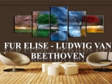 Fur Elise - Ludwig van Beethoven Piano Tutorial (Synthesia)