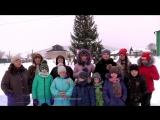 В районном конкурсе новогодних оформлений Магинский сельский совет был признан самым лучшим