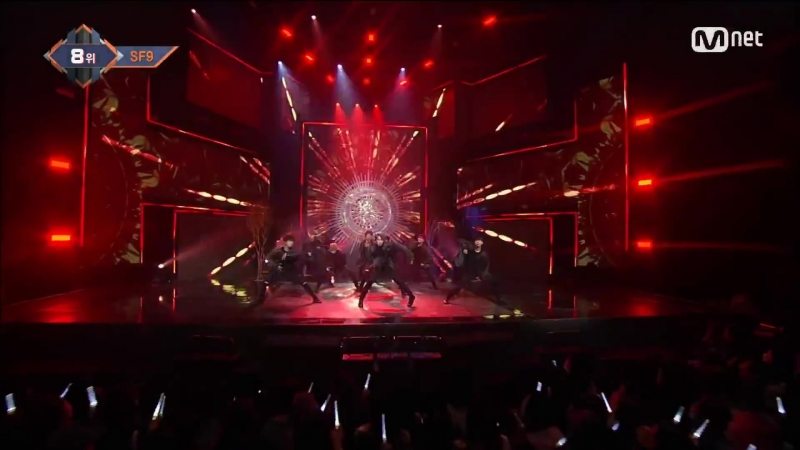 SF9 - O Sole Mio (Comeback Stage ¦ M COUNTDOWN 171019 EP.545)