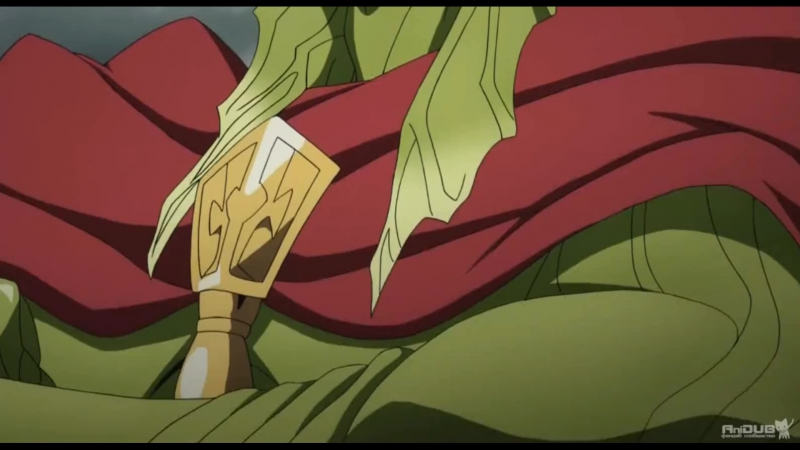 Момент из аниме Маги: Королевство магии