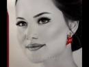"""- 🎨🎨 @evcenf ♥️♥️ FahriyeEvcen Beauty 😍♥️🙏🏻 Queen Love Drawing 😍♥️ By @a.r.t_g.a.l.l.e.r.y…"""