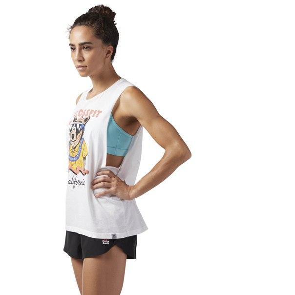 Спортивная майка Reebok CrossFit Cali Bear