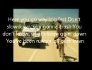 Crash - Matt Willis (Lyrics)