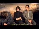 AskTheElves The Hobbit stars answer your questions - Movies Interview - Digital Spy (рус. субтитры)