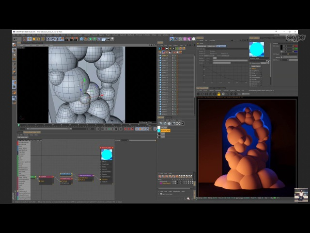 Yambo Ash Thorp / Octane, Cinema 4D and 3D Coat / Learn Squared Live Stream