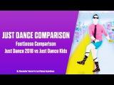 Footloose (Kenny Loggins) Just Dance 2018 vs Just Dance Kids Comparison