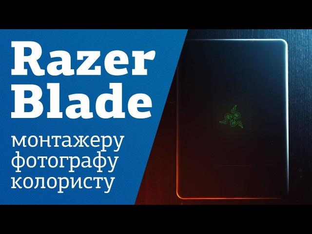 Razer Blade 14   ЛУЧШИЙ НОУТБУК ДЛЯ ВИДИКОВ   ФОТОГРАФОВ   МОНТАЖЕРОВ   КОЛОРИСТОВ   Маша - кот