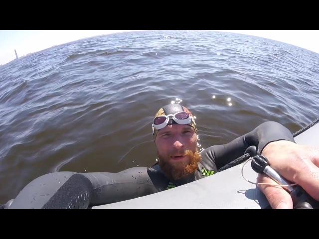 Чуть не утонул в Финском заливе. Kotlinrace. Питер - Кронштадт. 25км.