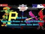 MLB The Show 17 Pittsburgh Pirates vs. St. Louis Cardinals Predictions #MLB2017 (24th June 2017)