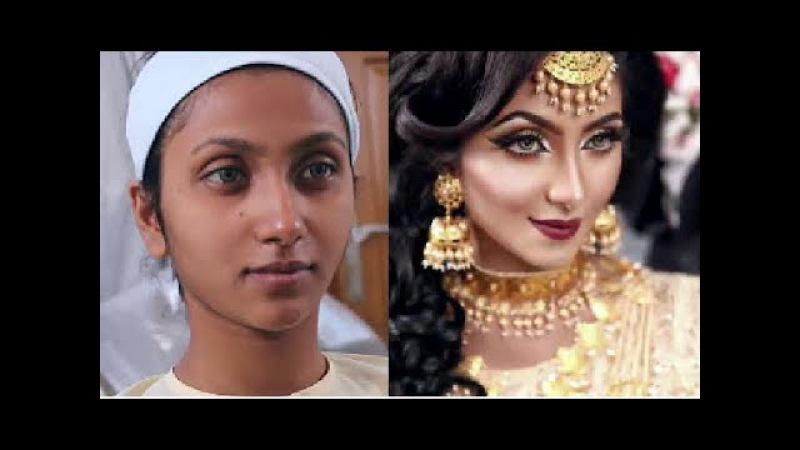 ДО И ПОСЛЕ 💄Индийская невеста 💄Урок макияжа Zahid Khan