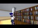 Yandere Simulator - Non Readable Books ( Pose Mode Shorts )