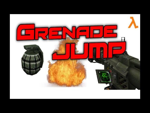 Как делать Grenade jump? /How to do Grenade jump?
