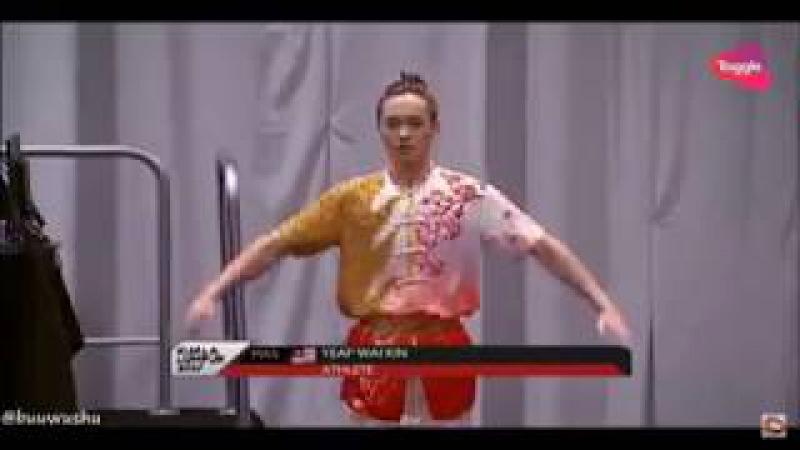 14 ЧМ по спортивному ушу 2017 |SEA GAMES 2017|Men's Changquan | 🇲🇾Yeap Wai Kin