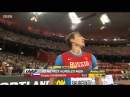 Sergey Shubenkov 12 98 NR Men's 110m Hurdles Final IAAF World Championships Beijing 2015