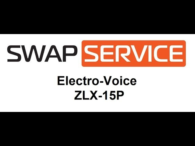Electro Voice ZLX 15P ремонт усилителя звука
