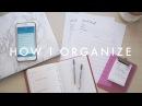 How I Plan Organize My Life to Achieve Goals