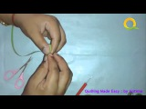 Tutorial # 58 Quilling Made Easy # How to make Quilling Fridge Magnet Flower Green Quilling Art
