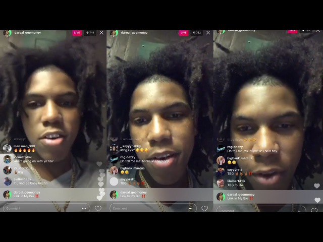 """GeeMoney Disses NBA Youngboy, Maine Tec """"All You N*ggas p*ssy NBA Youngboy A rat"""" Likes Kodak"""