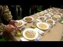 Солдатская еда с презентации Порошенко и из казарм. Военные сняли для президент