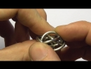 CLOSEUP FIRE WYRM CHAINMAILLE WEAVE TUTORIAL