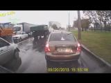 Яжемать - вы должны меня понять!_Mother and child on the road in danger!