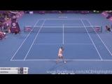 Caroline Wozniacki vs Petra Kvitova 2018_02_17 SF Highlights