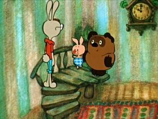 Винни Пух - в гостях у Кролика
