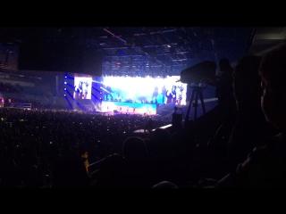 На концерте Скорпионс с любимым папой☺️