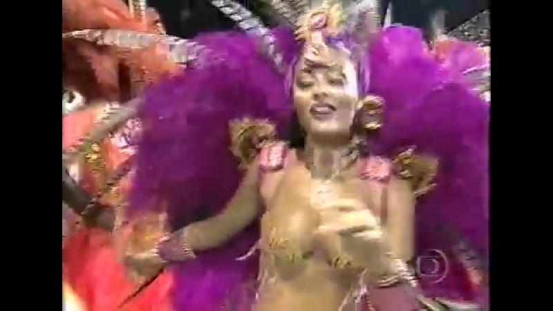 🎉СУПЕР НАХОДКА! 🎉Жулиана Паес на карнавале 2002 г. в костюме котором снималась в Клоне