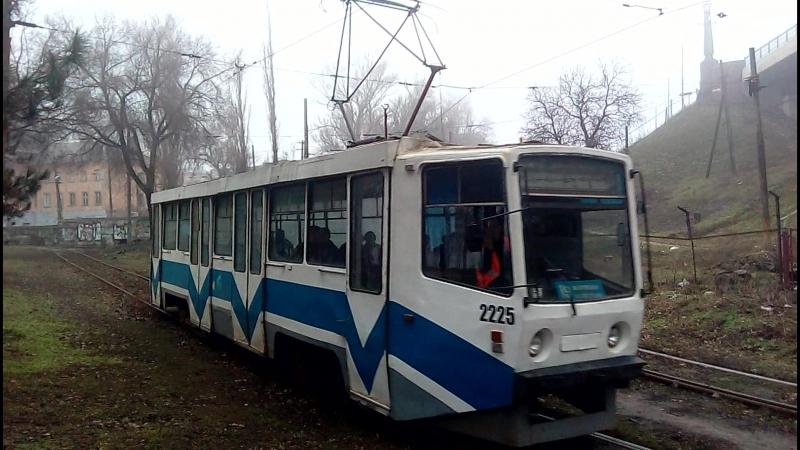 71-608КМ (КТМ-8км) №2225 Пл.Десантников г.Днепропетровск