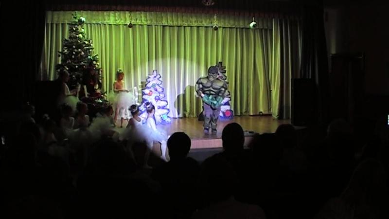 Новогодняя сказка Дед мороз и супер герои Театральная студия Дети Мельпомены КДЦ Московский