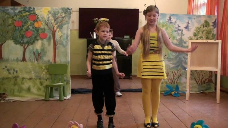 спектакль-мюзикл Кламзи и его друзья в старой Дубковской школе (2009 г.)