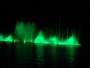Шоу поющие фонтаны в озере Абрау Краснодарский край (часть 1) 07.09.2017