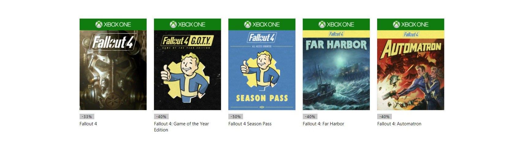 Microsoft объявила бесплатные выходные Fallout 4 на Xbox One