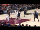 LeBron James Ridiculous No-Look Assist To Dwyane Wade _ January 18, 2018