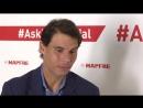 MAPFRE En directo a Rafael Nadal AskRafaNadal 05 02 2018