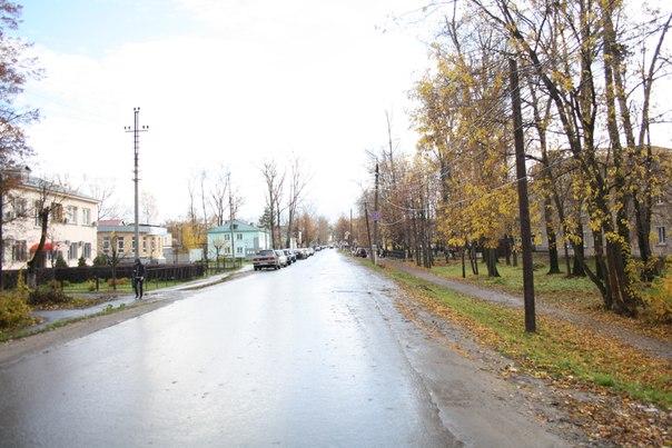 Перспективный вид на улицу Советскую.  14 ноября 2017