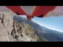 Long Wingsuit Flight @Bec de lAigle Hugues Orlianges