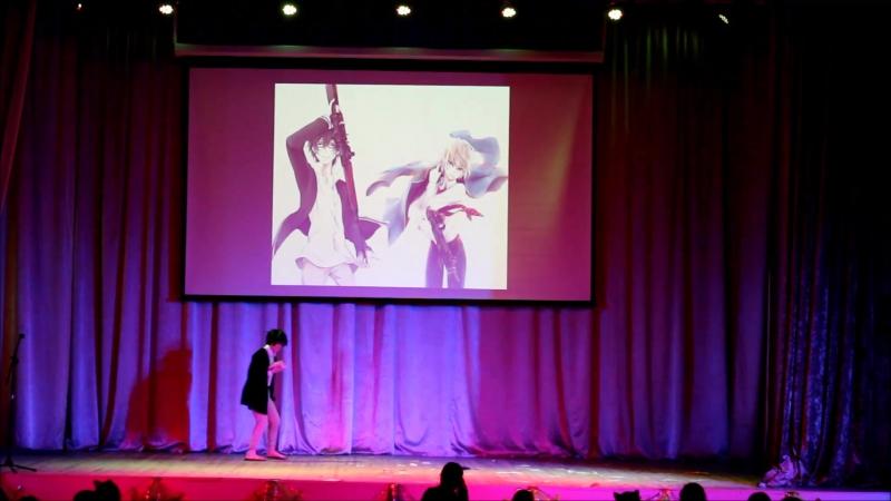 Дуэт Пыльная радуга - Тоору Юкимура x Хотару Тачибана_Синяя весна и механическая пушка