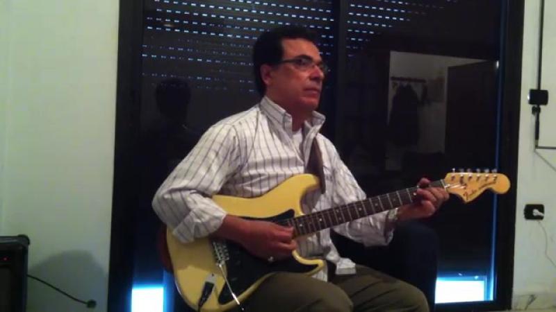 Abdul Halim Hafez 'Bahlam beek' (بحلم بيك ) - by Ahmad Chaaban on Electric Guita 14073