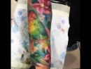Акварельная татуировка мастер Slava_jangle (Москва)