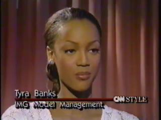 Tyra Banks 1992