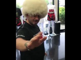 Галустян угрожает Хабибибу