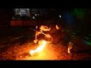 Fire Show от Сергея Литовченко на 10 летие мотоклуба HEADWIND MC Izyum Kh UA часть вторая