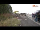 Разбросаны части машин останки людей - на Полевском тракте в ДТП погибли 8 человек