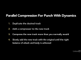 27 - Parallel compression for punch with dynamics