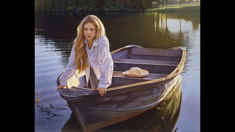 Danielle Richard -American Hyperrealist Painter ✽ Ernesto Cortazar _ A New Day